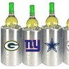Officially Licensed NFL Double Wall Stainless Steel Wine Chiller