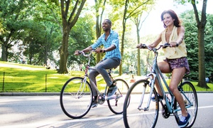 Central Park Bike Tours: Two-Hour, Four-Hour, or Full-Hour Bike Rental from Central Park Bike Tours (50% Off)
