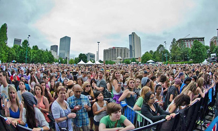 Party in the Park w/ Girl Talk, MGMT, The Joy Formidable, Minus the Bear, & Stokeswood - Georgia World Congress Center- Sidney Marcus Auditorium: Party in the Park Featuring Girl Talk, MGMT, Minus the Bear, and More on Saturday, May 17 (Up to 38% Off)