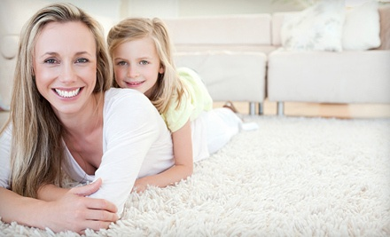 Three Rooms of Carpet Steam Cleaning or Upholstery Cleaning from Marshall Carpet Cleaning (Up to 65% Off)