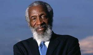 Living Legend Dick Gregory: Dick Gregory on May 15, at 7:30 p.m.