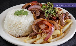 Tineo Peruvian Bakery & Cuisine: Peruvian Cuisine for Two or Four or More at Tineo Peruvian Bakery & Cuisine (Up to 50% Off)