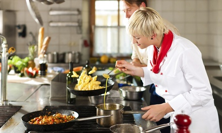 Hands-On Cooking Class from Edible Adventures at Platt College - OKC (40% Off). 2 Options Available.