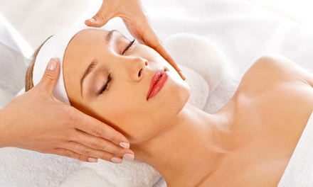 Facial, Massage or Both at Cher Salon London (Up to 73%)