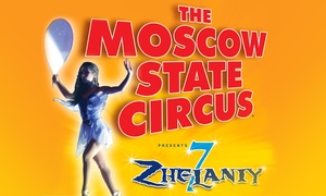 Moscow State Circus: One Ticket to Moscow State Circus, 16–24 February at Forest Recreation Ground (Up to 53% Off)