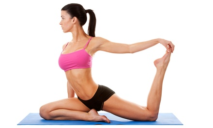 $20 for One Month of Unlimited Classes at Hot Yoga Edwardsville ($75 Value)