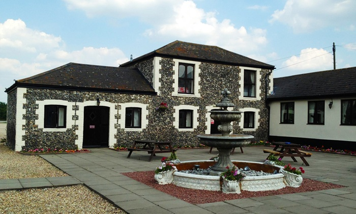 Coach House Hotel - Royston: Cambridgeshire: Stay For Two With Dinner for £59 at The Coach House (Up to 45% Off)