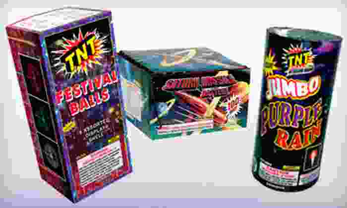 TNT Fireworks - Chattanooga: $20 for $45 Worth of Fireworks at TNT Fireworks