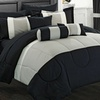 Chic Home Knightsbridge Bed-in-a-Bag Comforter Set (20-Piece)