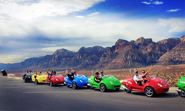 Red Rock Canyon Scooter-Car Tour - Scoot City Tours