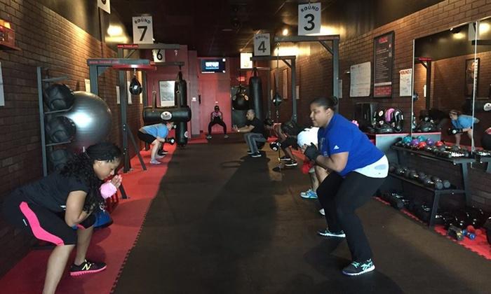 9ROUND kickbox fitness - Maryland City: One Month of Fitness Classes at 9ROUND Kickbox Fitness (65% Off)
