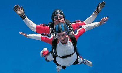 image for $108 for One Tandem Skydive from Skydiving Land ($210 Value)