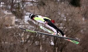 Norge Ski Club: 111th Annual International Norge Ski Jump Tournament for 2, 4, or 6 at Norge Ski Club, Jan 30–31 (53% Off)