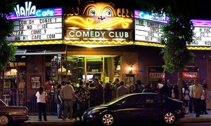 HaHa Comedy Club: Standup and an Appetizer for Two (Through April 30)