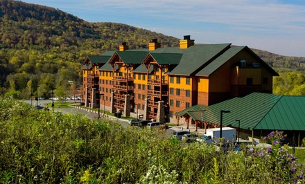 Groupon Deal: 2-Night Stay for Up to Six with 1-Day Water-Park Passes at Hope Lake Lodge and Conference Center in Finger Lakes, NY