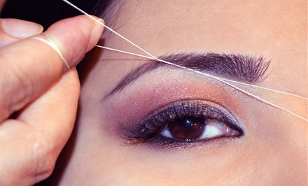 One, Three, or Five Eyebrow-Threading Sessions at Nirvana Beauty and Brows (Up to 56% Off)