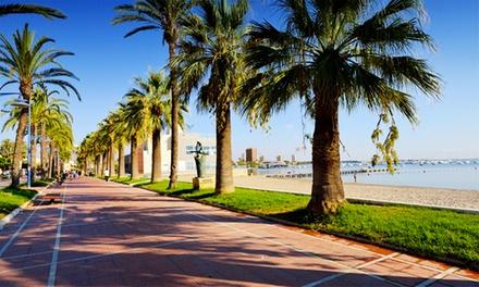 Mar Menor: hasta 4 noches para 2 con media pensión o pensión completa y late check-out en el Hotel Trabuco