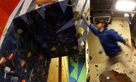 One-Hour Rock Climbing Lesson with Day Passes for Two or Four at Ocean State Rock Climbing (Up to 55% Off)