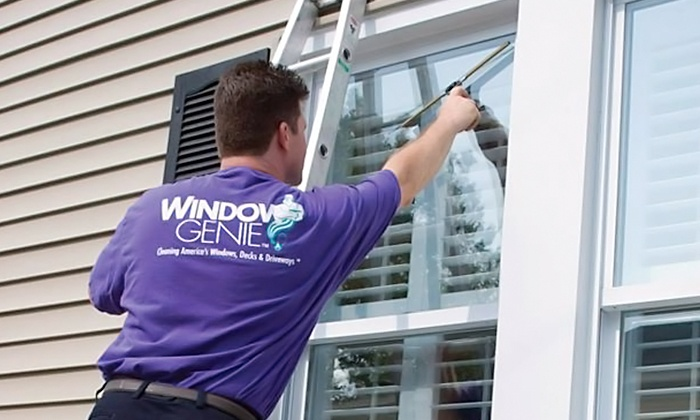 Window Genie - North Jersey: Window Cleaning Services or Gutter Cleaning and Inspection from Window Genie (Up to 52% Off)