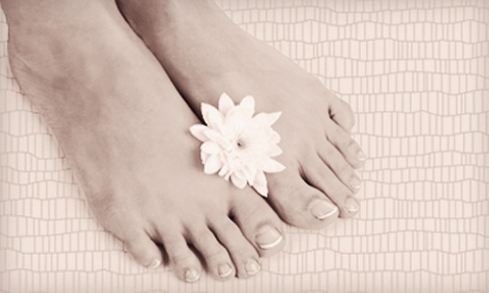 LightTouch Med Spa and Bellagio Beauty & Day Spa - Multiple Locations: Laser Toenail-Fungus Removal for One or Both Feet at LightTouch Med Spa and Bellagio Beauty & Day Spa (Up to 75% Off)