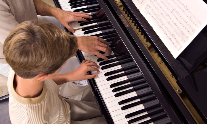 The Music Box School of Music - Victoria: Four or Eight 30-Minute Private Music Lessons at The Music Box School of Music (Up to 66% Off)