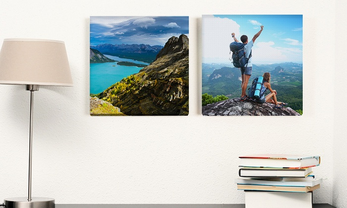 Photobook America: Canvas Print from Photobook America (Up to 86% Off ). Four Sizes Available.