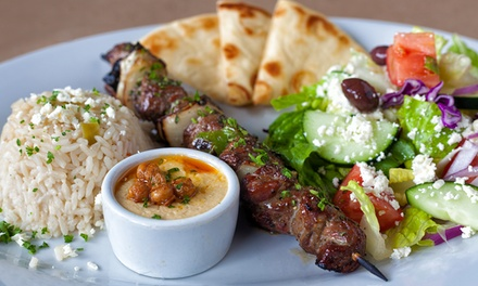 Greek Breakfast or Brunch, or Greek Dinner for Two or Four at Yannis Greek Restaurant (Up to 37% Off)