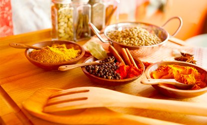 image for Three-Course Set Vegetarian Indian Meal For Two (£17.95) or Four (£33.95) at Deepalis