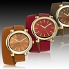 Geneva Platinum Women's Wrap Watches