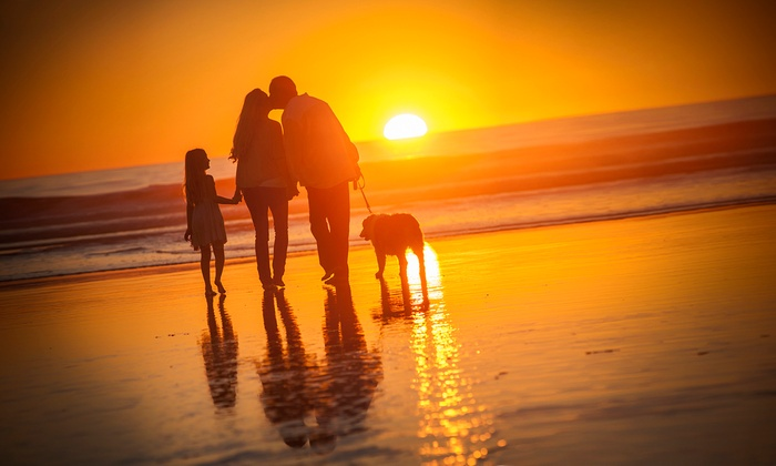 Del Mar Photographics - San Diego: Family Photo Shoot or Watch'em Grow Photo Shoot from Del Mar Photographics (Up to 85% Off).