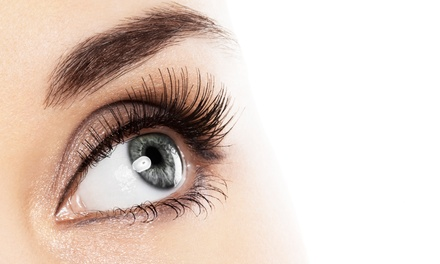 Full Set of Eyelash Extensions with Optional Touchup Session at KV Lashes and Hair Salon (Up to 51% Off)