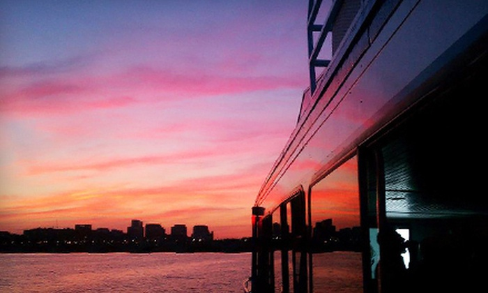 Boomerang Party Yacht - Boomerang Boat Tours: Fall Yacht Cruise with Themed Cocktail for One, Two, or Four from Boomerang Party Yacht (Up to 51% Off)