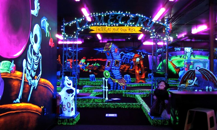 Monster Mini Golf - Norwood: Four or Eight Rounds of Miniature Golf at Monster Mini Golf (Half Off)