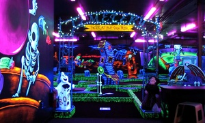Monster Mini Golf: Four or Eight Rounds of Miniature Golf at Monster Mini Golf (Half Off)