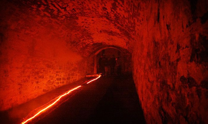Fortress of Nightmares - Newport: Two or Four General Admission or VIP Entries to Tunnels of Terror at Fortress of Nightmares (Up to 55% Off)