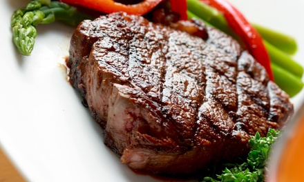 Steakhouse Dinner for Two or Lunch at Harbor Steak House (Up to 51% Off)