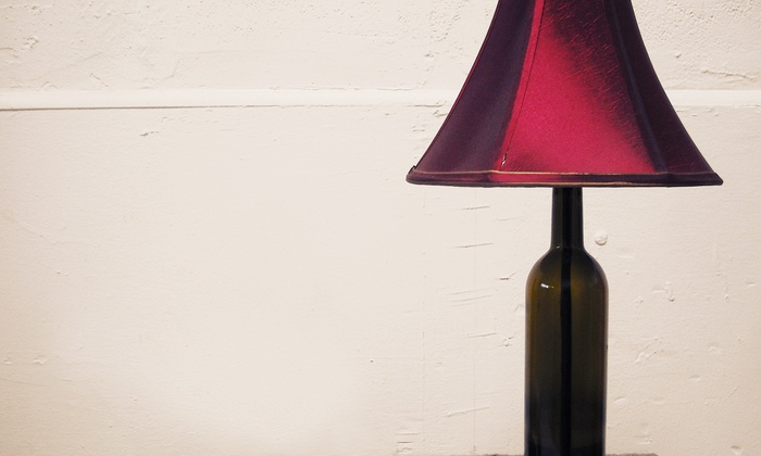 Gil Stancourt Lighting Studio - Mosswood: BYOB Lamp-Making Class for One, Two, or Six at Gil Stancourt Lighting Studio (Up to 60% Off)
