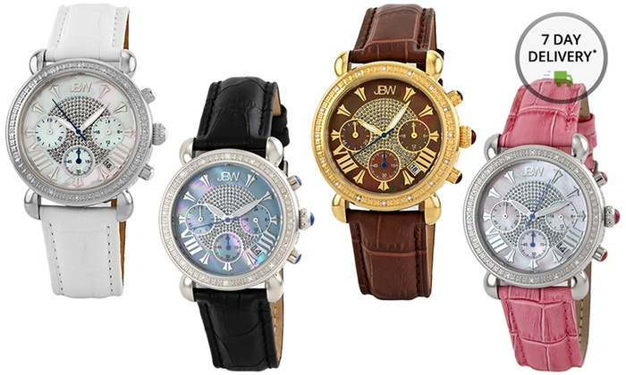3417475d7 JBW Victory Diamond-Accented Women's Watches