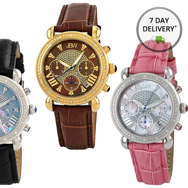 1ca5b5674 JBW Victory Diamond-Accented Women's Watches. Multiple Styles Available.  Free Returns.