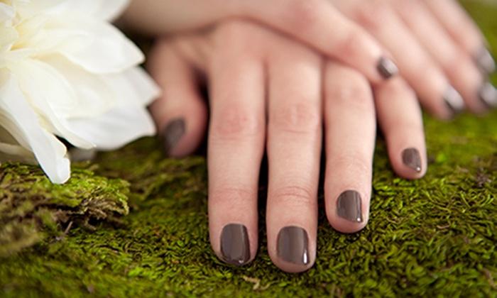 Discovered Treasure Nail Spa - Discovered Treasure Nail Spa: $17 for a Shellac Manicure and Toenail Polish Change at Discovered Treasure Nail Spa ($35 Value)