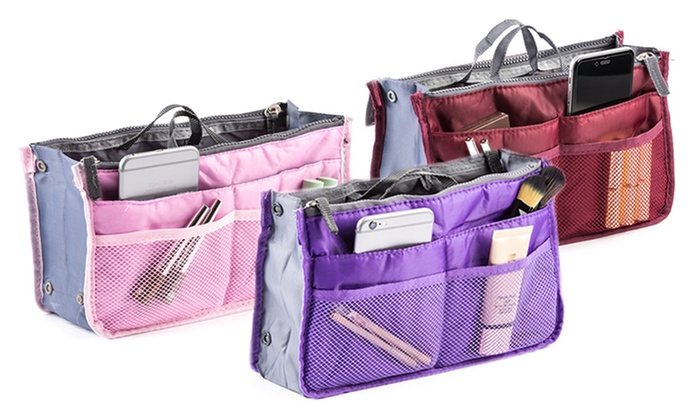 Cosmetic Bag Insert Purse Organizer