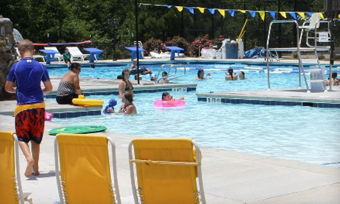Georgia Aquatic Center - Watkinsville: Summer Membership for One, Two, or Family of Five at Georgia Aquatic Center in Watkinsville (Up to 62% Off)