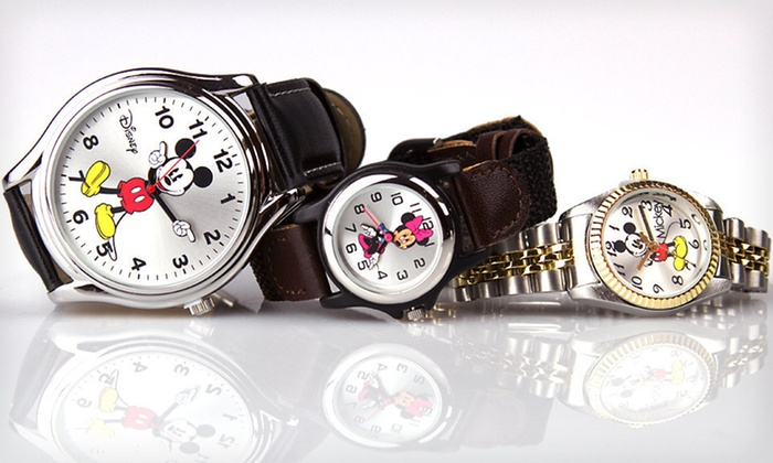 Disney Watches: $15 for a Disney Watch ($49.99 List Price). Nine Styles Available. Free Shipping.