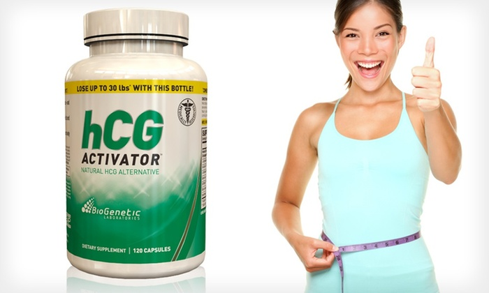 BioGenetic Laboratories HCG Activator Fat-Loss Capsules: $29.99 for BioGenetic Laboratories HCG Activator Fat-Loss Capsule and Diet Plan ($79.99 List Price). Free Shipping.