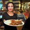 Arabisch-mediterranes Menü