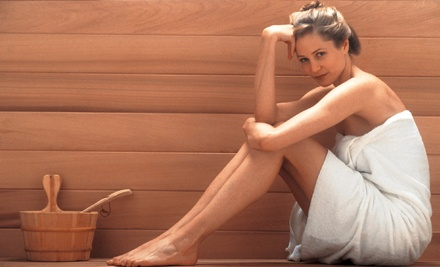 Three or Six Groupons, Each Good for Infrared Sauna Session at Carolyne Esthetics and Hair Artistry ( 49% Off)