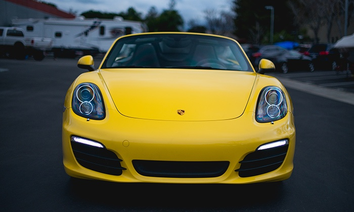Club Sportiva - SoCal Location: Luxury Car Rentals or an Exotic Car Sprint from Club Sportiva (Up to 40% Off). Four Options Available.