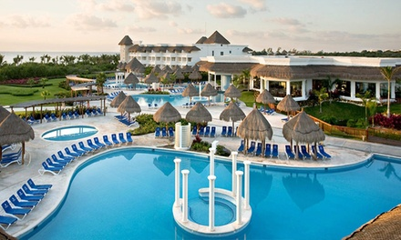 ✈ 5-Night All-Inclusive Mexico Stay from Travel by Jen. Price/Person Based on Double Occupancy (Buy 1 Groupon/Person).