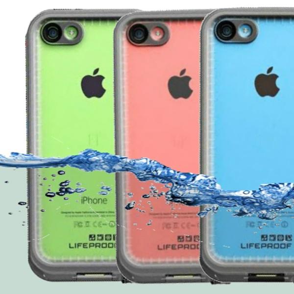 watch 3232c ab69b Lifeproof Nuud Waterproof Case for iPhone 5c