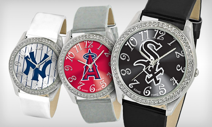 MLB Women's Glitz Watches: $26.99 for a MLB Women's Glitz Watch ($49.95 List Price). 24 Teams Available. Free Shipping.